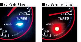 ADVANCE CR peak and warning LED